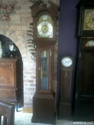 Grandfather Clock weight driven Westminster chimes