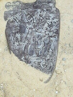 Rare Antique Ancient Egyptian Stela King Narmer 1st Dynasty Unify Egypt 3200 BC