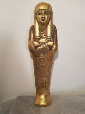 Rare Antique Ancient Egyptian Ushabti Servant minions winged Scarab 1750-1670B