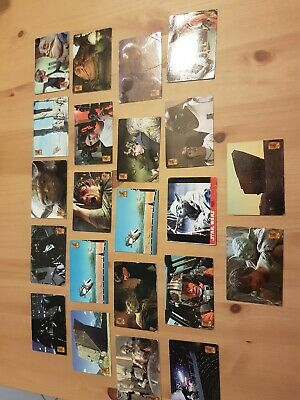 Lot De Cartes Star Wars Trilogy Collection Merlin