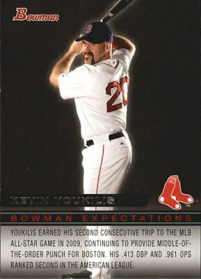 2010 Bowman Expectations #BE30 Kevin Youkilis Lars Anderson -NM-MT