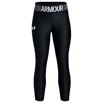 Under Armour HG Ankle Crop Youngster Girls Performance Tights Pants Trousers