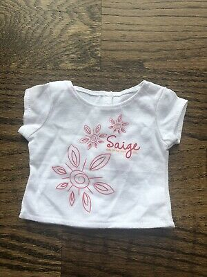 American Girl Saige Store Exclusive 2013 Retired Tee EUC