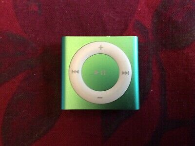 Apple iPod shuffle 4th Generation (2GB) Turquoise w/EarPods & Charger & Clip