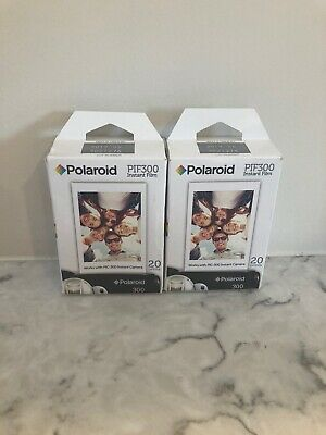 polaroid pif300 instant film (2 Packs Of 20 Prints)