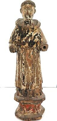 .1700s / 1800s VERY LARGE WOODEN POLYCHROME ICON ex PHILIPPINES SPANISH COLONIAL
