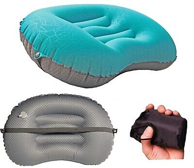 Inflatable Portable Air Pillow, Camping, Hiking, Backpacking, Travel, Ultralight