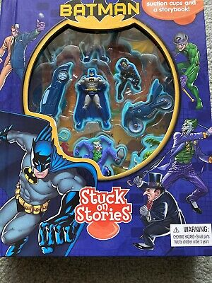 DC Comics Batman Stuck On Stories 10 Toys And Story Book