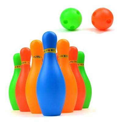 Jumbo Outdoor Garden Games Kids Family Fun Activity Giant Toys Bowling Dominoe#H