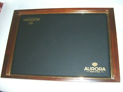 Aurora Italian made cushion tray for pen display used in very good condition
