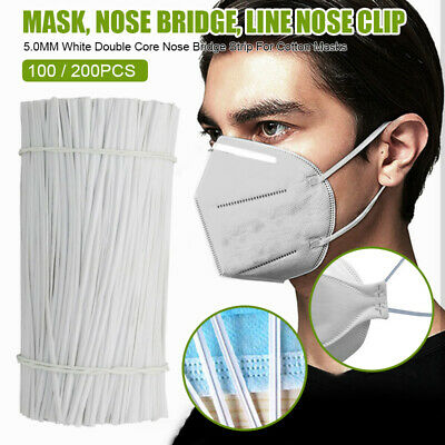 100Pcs Nose Bridge Strip Mouth Cover Fix Protection For Making Accessories