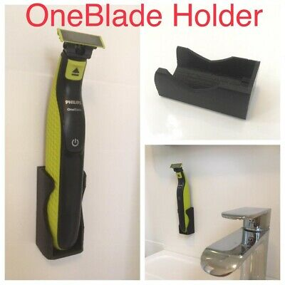 Wall mount compatible with Philips one blade - Bathroom support holder accessory