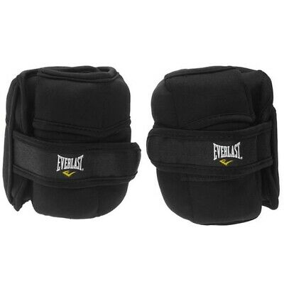 Everlast Wrist/Ankle Weights - Black 4kg. Gym, Running, Fitness amd well-being