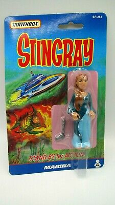Gerry Anderson STINGRAY Matchbox MARINA ACTION FIGURE  1992 MOC