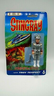 Gerry Anderson STINGRAY Matchbox TROY TEMPEST ACTION FIGURE  1992 MOC