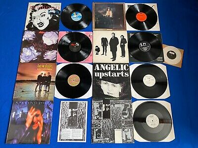 "80x LPs/12"" Rare Vinyl Job Lot Record Collection Punk New Wave"