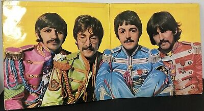 1967 The Beatles Sgt.peppers Lonely Hearts Club Band Uk