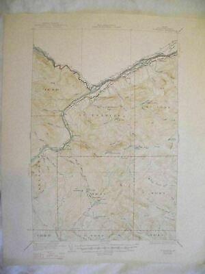 1947 St. Francis, ME Maine USGS Topographic Topo Map