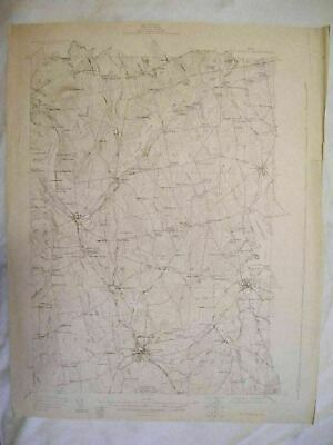 1930 Pittsfield, ME Maine USGS Topographic Topo Map