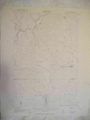 1955 Clayton Lake, ME Maine USGS Topographic Topo Map