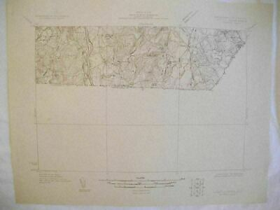 1931 Lowell Mass-NH Massachusetts New Hampshire USGS Topographic Topo Map