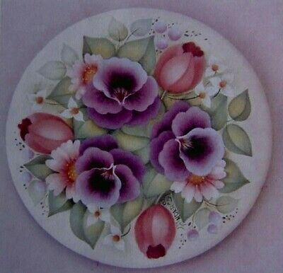 "Gail Anderson tole painting pattern ""From The Garden"""