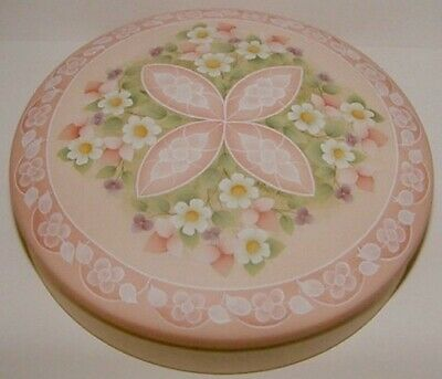 "Gail Anderson tole painting pattern ""Valentine Cookie Tin"""