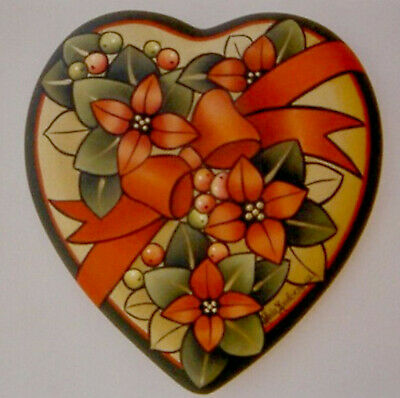 "Leila Lundberg tole painting pattern ""Christmas Heart"""