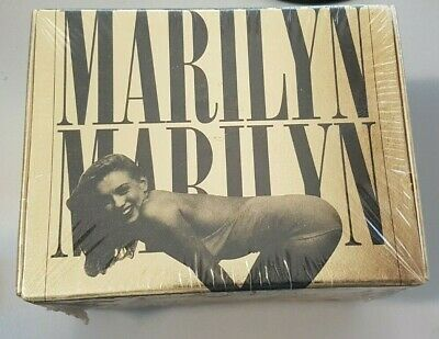 1993 Marilyn Monroe The Private Collection GOLD Trading card Box Set SEALED