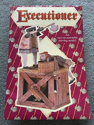 Executioner Easy To Assemble Cardboard Moving Model