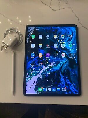 Apple iPad Pro 3rd Gen. 64GB, Wi-Fi + Cellular (Unlocked), 12.9in-Apple Pencil 2