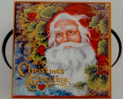 "Pipka tole painting pattern ""Christmas Greeting Box"""
