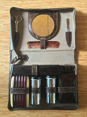 Vintage Lyall Robertson Melbourne Grooming Kit with Case