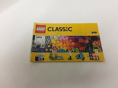 Lego !! Instructions Only !! For Cassic 10698