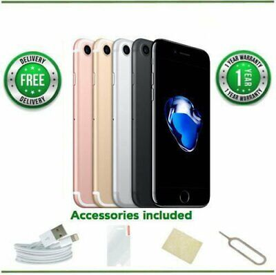 Apple iPhone7 - 32GB/128GB/256GB - All Colours - UNLOCKED - Various Grades FM