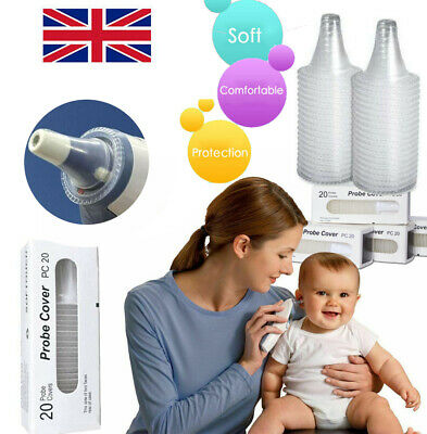 Probe Covers Thermoscan Replacement Lens Ear Thermometer Filter Cap For Braun UK