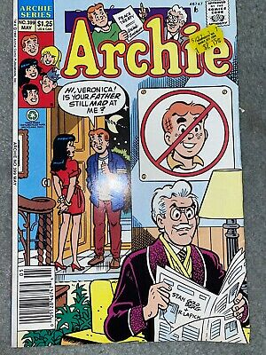 Archie Comic No 399 May 1992