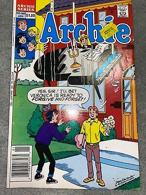 Archie Comic No 395 January 1992