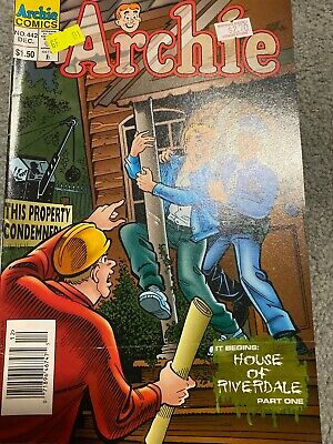Archie Comic No 442 December 1995