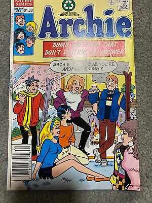 Archie Comic No 397 March 1992