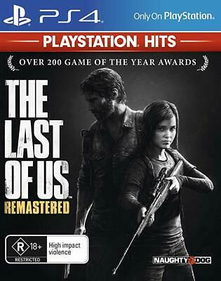The Last of Us: Remastered - BRAND NEW - PLAYSTATION 4