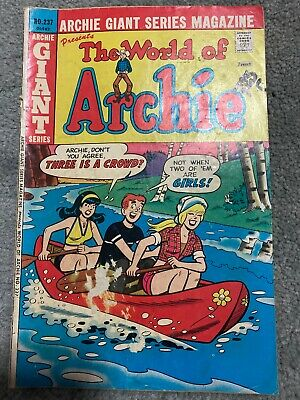 World Of Archie Comic No 237 September 1975