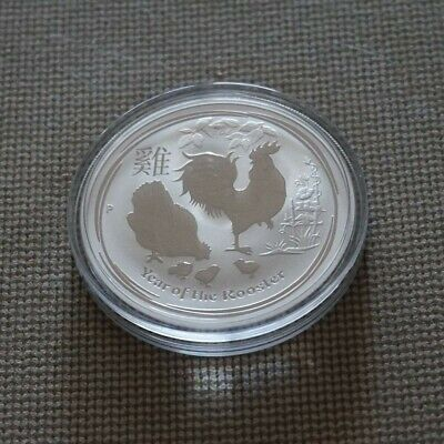 2017 Year Of The Rooster AUSTRALIAN Silver Coin Lunar Silver Coin 1oz Perth Mint