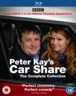 Peter Kay's Car Share: The Complete Collection =Region B BluRay,sealed=
