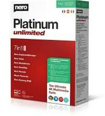 Nero Platinum 2020 Suite ✅ Lifetime License ✅ FAST DELIVERY ✅