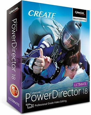 CyberLink PowerDirector Ultimate 18✔️Full Version✔️Fast Delivery✔️