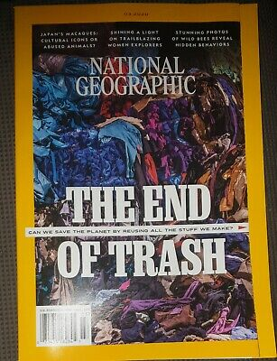 National Geographic Magazine 03/2020 Free Postage New Unread World News
