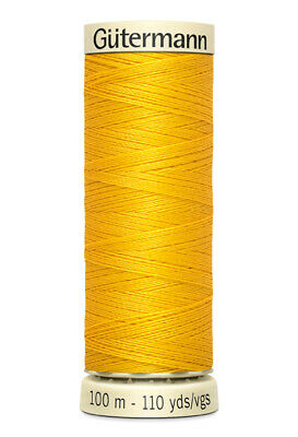 Gutermann sew all 100% polyester sewing thread 100M spools for machine / hand