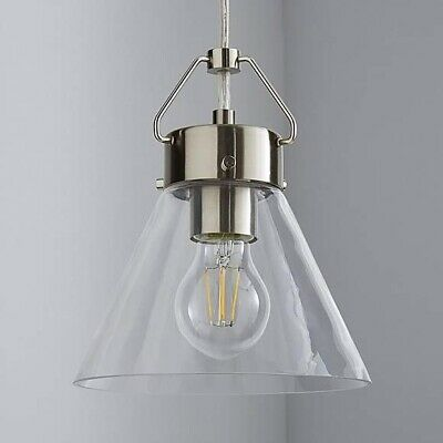 DSI Brooklyn Collection 3 Light Black Chandelier with Clear