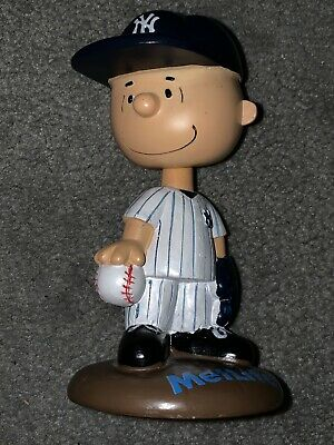 Charlie Brown, Peanuts, New York Yankees,Metlife Bobble Head 2013